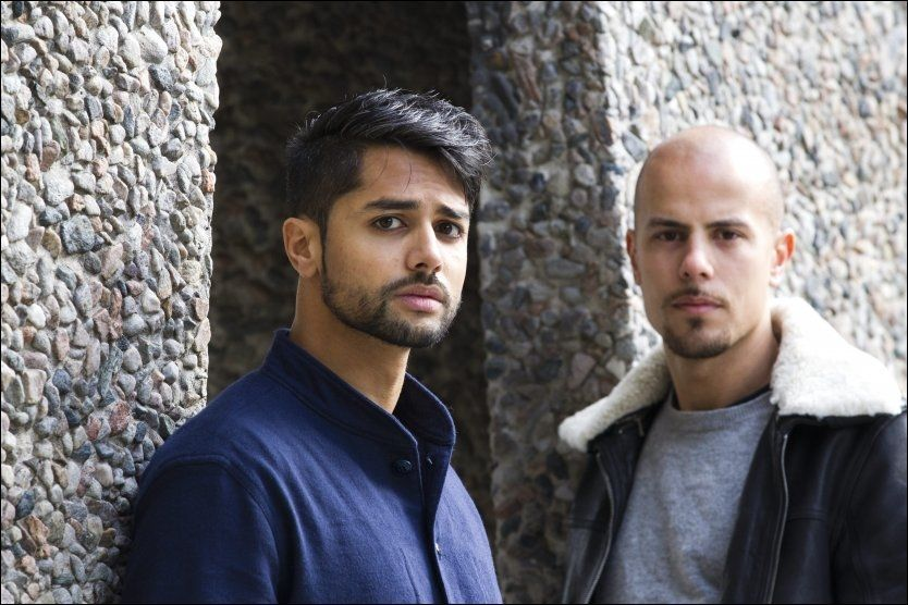 GÅR FOR STORSTUA: Chirag Patel (t.v.) og Magdi Omar Ytreeide Abdelmaguid i Karpe Diem håper på å fylle Oslo Spektrum neste år. Foto: Jan Petter Lynau