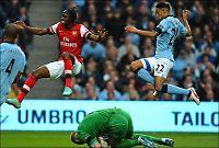 City og Arsenal tapte terreng til United og Chelsea
