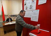 Omstridt valg i gang i Hviterussland