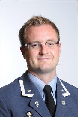 OBERSTLØYTNANT: Tor Arne Berntsen ved forsvarets høyskole. Foto: FORSVARET