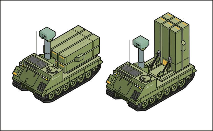 SE OPP, HÆR ER FREMTIDEN: Hæren la ned Luftvernbataljonen i 2004. Nå «gjenoppstår» den som en del av Artilleribataljonen. Dette er bare den siste av flere milliardinvesteringer i Hæren de siste årene. Foto: FORSVARET
