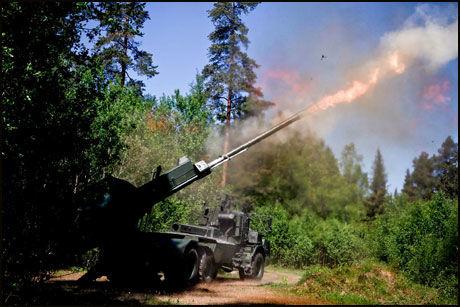 NYTT ARTILLERI: I løpet av 2015 får Hæren nytt, svenskutviklet artillerisystem av typen Archer. Foto: BAE SYSTEMS