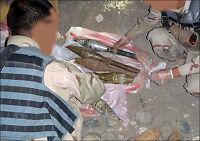 Avslørte stort våpenlager utenfor Kabul