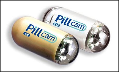 Dette pillekameraet kan sende video i full HD fra innnsiden av magesekken.
