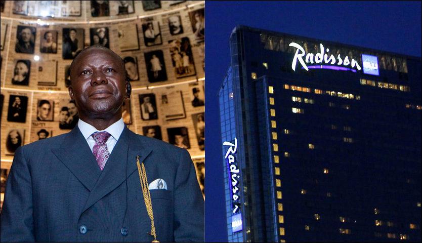 KONGEBESØK: Otumfuo Osei Tute II er konge av Ashanti-regionen i Ghana. Fredag skal han tale under en stor norsk-afrikansk handelskonferanse på Radisson Blue Plaza Hotell. Foto: NTB scanpix / Epa