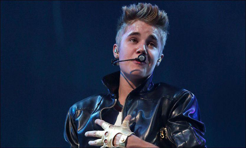 POPULÆR GUTT: En underdrivelse vil kanskje mange mene. Her er Justin Bieber i Las Vegas i slutten av september. Foto: wenn.com