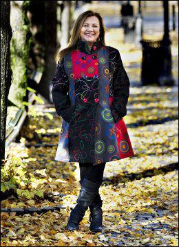 FIKK KUNSTNERSTIPEND: Samisk sanger og musiker, Mari Boine. Foto: Roger Neumann, VG