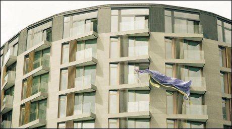 FLUNKENDE NYTT: Personlig, elegant og kraftfullt er Choice Hotels egen karakteristikk av The Thief. Hotellnettverket Design Hotels mener hotellet fullt ut tilfredstiller forventningene. Foto: Marcel Leliënhof