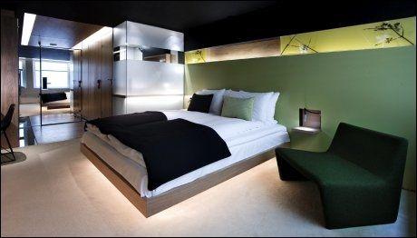 GRIMS GRENKA: First-hotellet i Kongens gate er fram til nyttår det eneste norske hotellet tilknyttet Design Hotels. I 2013 overtar nye The Thief hegemoniet - alene. Foto: First Hotels