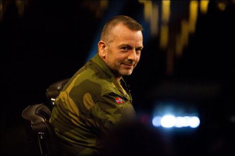 UTTALER SEG I BOKEN: oberstløyntnant Rune Wenneberg er en av de norske Afghanistan-soldatene som snakker om voldsom, norsk maktbruk i den nye boken. bildet er fra da Wenneberg gjestet «Skavlan». Foto: Jan Johannessen / VG