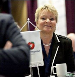SIER JA: Medlem av programkomiteen i Frp, Kari Kjønaas Kjos. Foto: Anette Karlsen / NTB scanpix