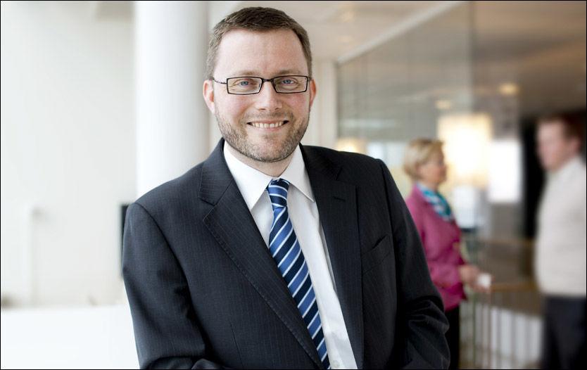 FERDIG: Avtroppende administrerende direktør Rune Olsø i Entra. Foto: Entra