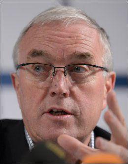 UCI-SJEF: Pat McQuaid holder pressekonferanse kl 13. Foto: AFP