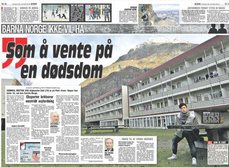 Faksimile: VG 25.10.2012