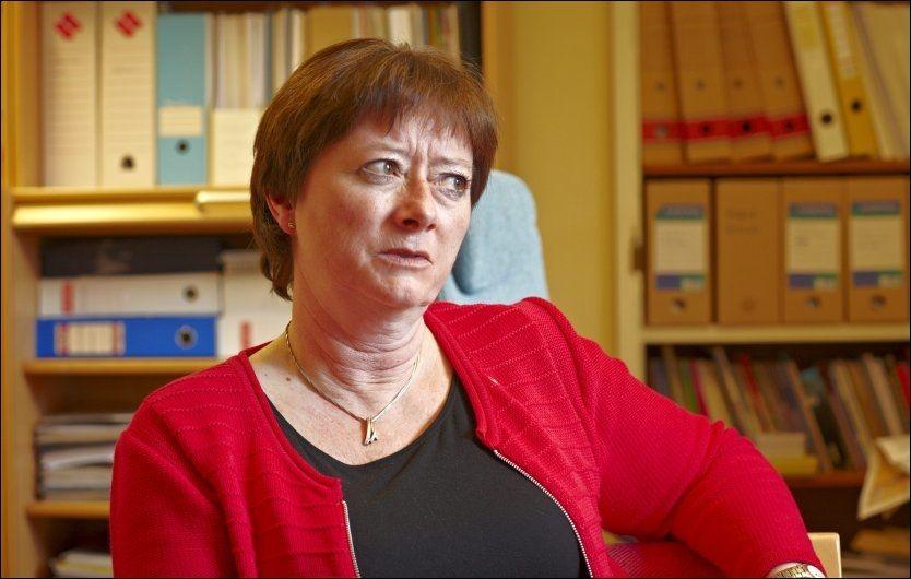 VURDERER TVANG: Arbeidpartiets integreringspolitiske talsperson, Lise Christoffersen, varsler en tøffere linje - om kommunene ikke frivillig tar imot flere asylsøkere. FOTO: TORE KRISTIANSEN/VG