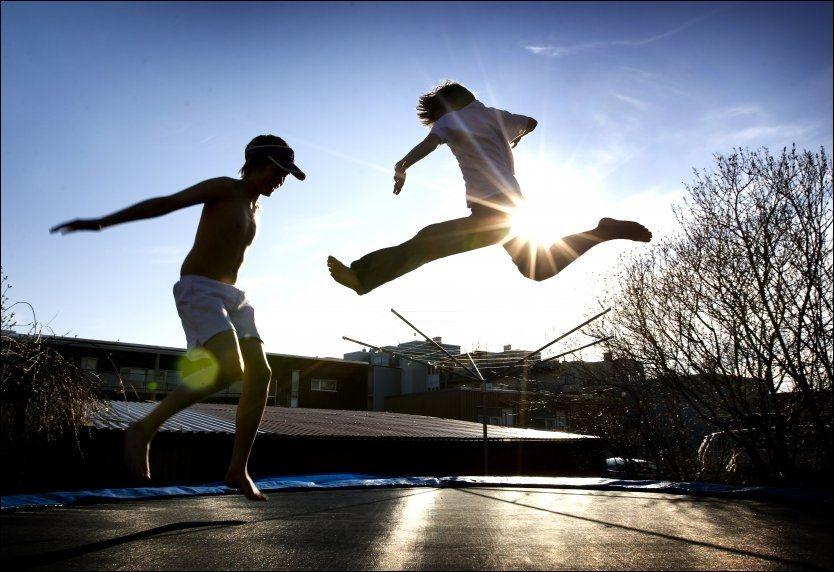 TILFREDS AV TRENING: Fysisk aktivitet er noe av det som kan gjøre deg mer tilfreds dersom du ikke er født med en god dose lykkegener. Foto: Illuestrasjonsfoto: Gorm Kallestad, NTB SCANPIX
