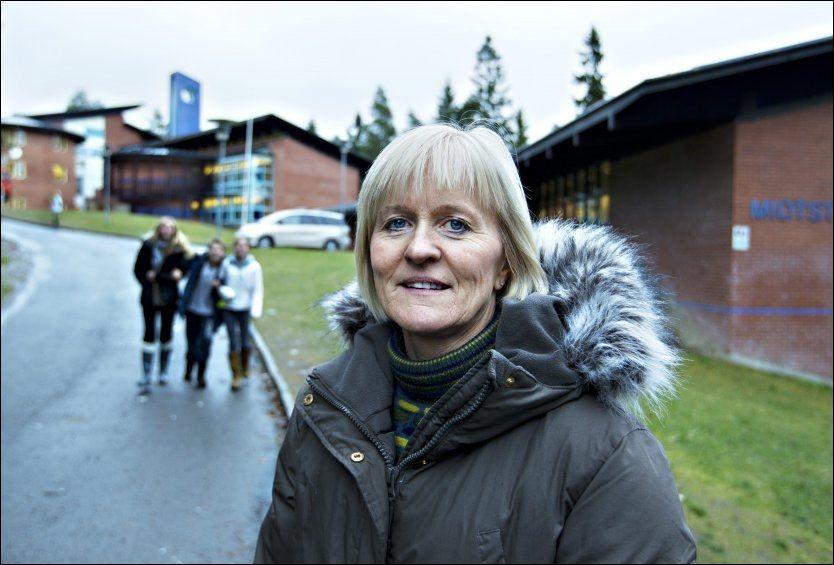 LÆRERLEDER: Ragnhild Lied (53)blir valgt som ny leder i Utdanningsforbundet tirsdag. Foto: Roger Neumann