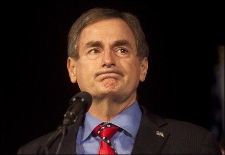 TAPSANSIKT: Senatorkandidat Richard Mourdock måtte gi tapt i valget om å få plass i det amerikanske senatet. FOTO: REUTERS
