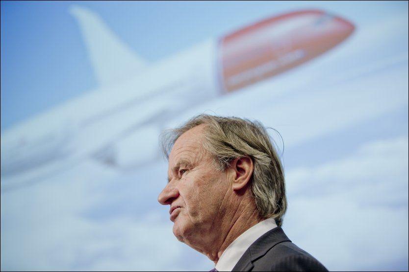 Norwegian og Bjørn Kjos sine nettsider kollapset torsdag, på grunn av stor pågang fra kunder som ville ha billige flybilletter. Foto: