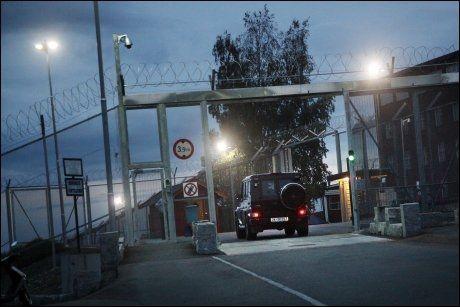 SONER HER: Breivik sitter i isolasjon ved Ila fengsel. Foto: AFP PHOTO/SCANPIX/Heiko Junge