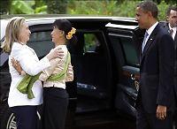 Obama på historisk besøk i Myanmar