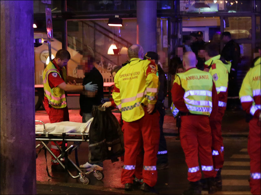 SLAGSMÅL: Politiet rykket ut da det ble meldt om massaslagsmål på La Boheme i Oslo. Foto: VG-tipser