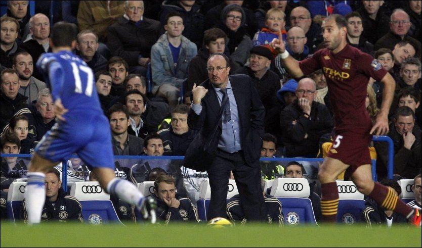 Man City Mot Chelsea: Benitez Pepet På Før Og Etter Debuten
