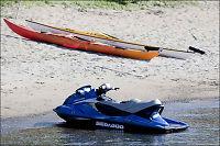 Ulovlig å kjøre vannskuter - men du må betale båtmotoravgift