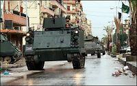 Harde kamper i libanesisk by
