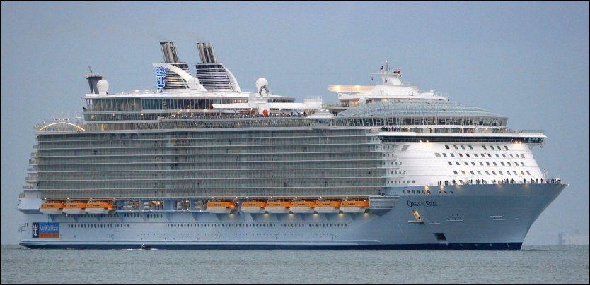 Verdens største cruiseskip 2012
