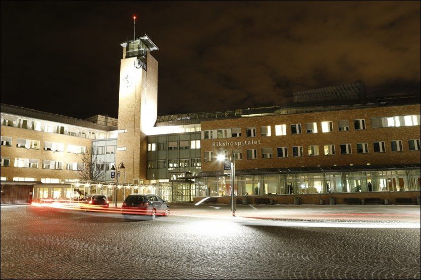 ALVORLIG: Barnet som ble innlagt med svineinfluensa i romjulen behandles på intensivavdelingen ved Oslo universitetssykehus. Bildet er tatt ved en annen anledning. FOTO: NTB SCANPIX