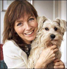 SAMBOERE: Anita Skorgan sammen med hunden Kaisa (4.5). Foto: Frode Hansen