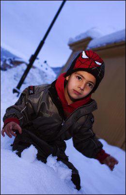 SENDT UT: Ni år gamle Mahdi Shabazi har bodd nesten hele sitt liv i norge, men må flytte til Iran. Foto: Alf Øystein Støtvig