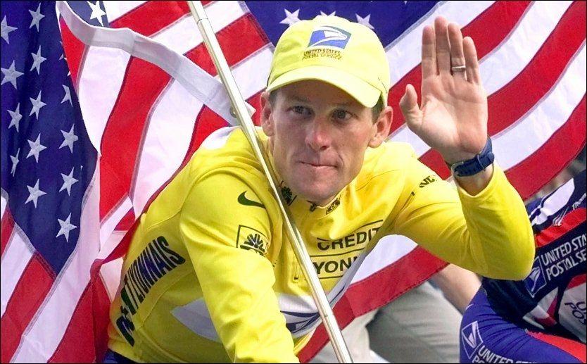 STRIPPET: Lance Armstrong ble fratatt alle seirer og all ære. Først da la han kortene på bordet. Foto: LAURENT REBOURS/AP