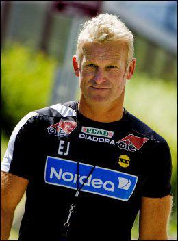 TROR PÅ PEP: Erland Johnsen. Foto: Krister Sørbø, VG