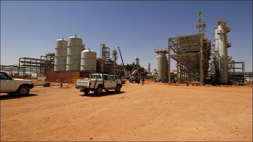 ANGREPET: Over ti nordmenn jobber ved anlegget i Ain Amenas i Algerie. Foto: Kjetil Alsvik / Statoil