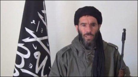FIKK STØTTE: Mokhtar Belmokhtar er av algeriske myndigheter utpekt som ansvarlig for terrorangrepet i Algerie. Angrepet fikk verbal støtte fra Profetens Ummah. Foto: Reuters / NTB scanpix