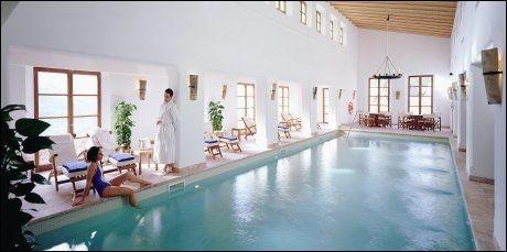 LUKSUSHOTELL: La Residencia på Mallorca er et populært luksushotell for nordmenn. FOTO: www.hotellaresidencia.com