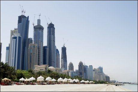 LUKSUS I DUBAI: Hotellet One & Only i Dubai har fem stjerner og eksklusiv profil. Hotellet fikk terningkast 5 av VGs anmeldere i fjor. FOTO: Gøran Bohlin