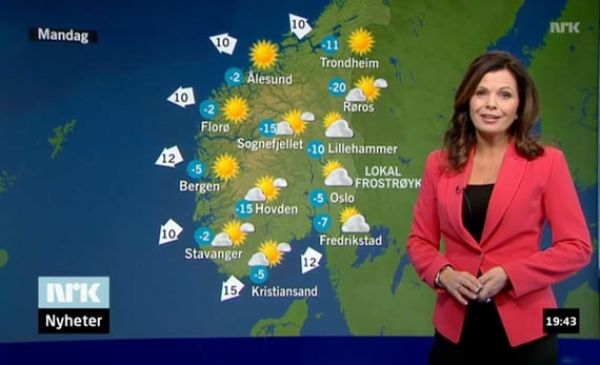 norske jenter tv vær navn
