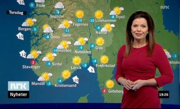 Sjekk Bente Marie Wahls Feminine Meteorolog Stil Minmote No Norges Storste Moteside