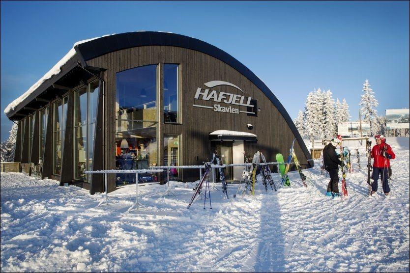 BRA: VG har testet mattilbudet i de tre største alpinanleggene. Helt nye Skavlen Restaurant på toppen av Hafjell var en av de bedre. Foto: MAGNAR KIRKNES