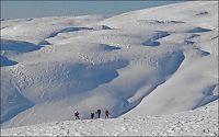 Fantastiske snøforhold i vinterferie-Norge