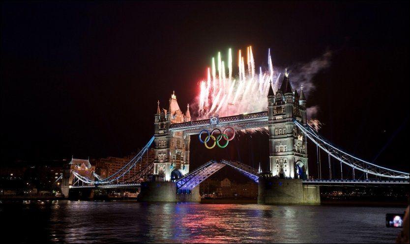 VINNEREN: London ble verdens mest besøkte storby i fjor, mye takket være OL-arrangementet midt på sommeren som trakk millioner av tilreisende. Foto: PA Photos