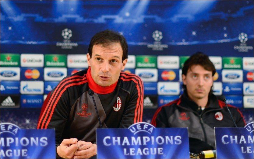 AC Milan-treneren: - Vi er ikke et offerlam