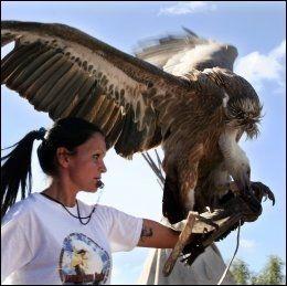 Verdens største ørn vingespenn