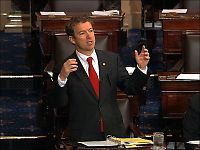Senator talte i tretten timer for å ødelegge for Obama