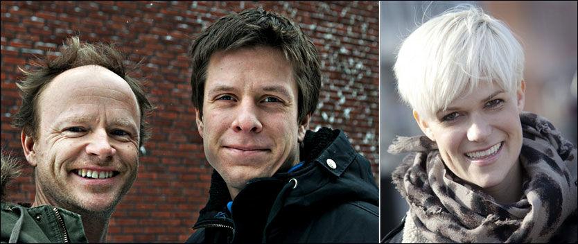 KRONIKKRANGEL: Sigrid Bonde Tusvik tok et oppgjør med Harald Eia (til venstre) og Ole Martin Ihle i dagens VG. Foto: Jan Tomas Espedal/Aftenposten og Linn Cathrin Olsen