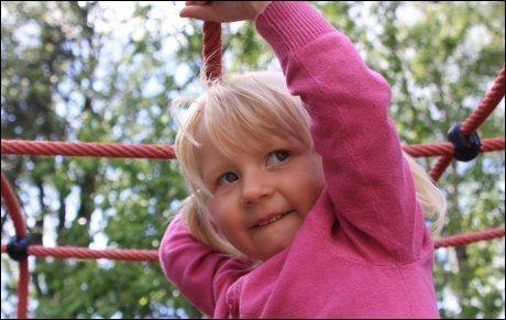 FUNNET DØD: Victoria Linnèa Juliette Heubach Magnussen (3) ble kvalt og døde i barnehagen. FOTO: PRIVAT