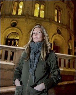 UNG BØLGE: Marianne Marthinsen (Ap) har foreslått en innføring av republikk i Norge sammen med tre partifeller og to SV-representanter. FOTO: Roger Neumann, VG